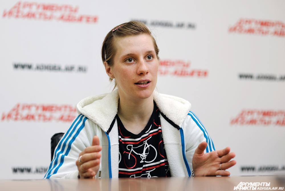 Елизавета Ошуркова.