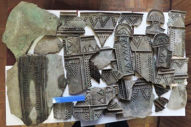 Такие котлы у вождей гуннских племён были символами власти. Волгоградская находка - одна из самых богатых.