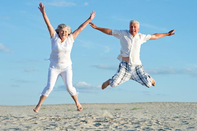 пляж, любовь, старение