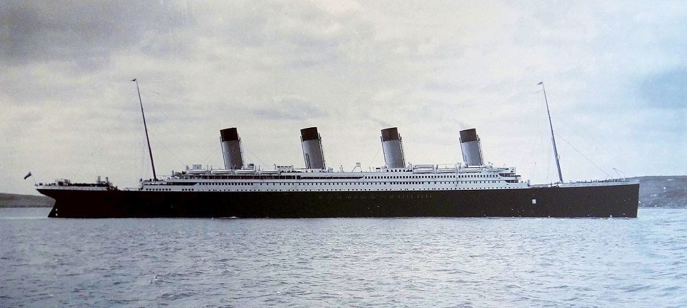 «Титаник» в гавани Корка