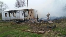 сгорел дом под Тамбовом