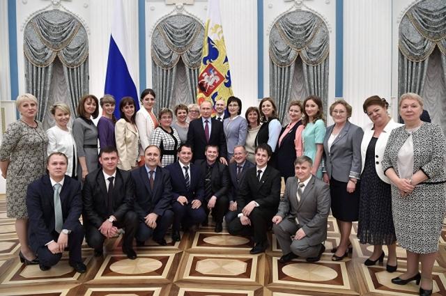Путин пригласил в Москву классных руководителей со всей страны.