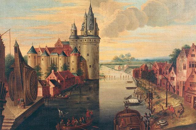 Куртре (ныне Кортрейк), 17-й век.
