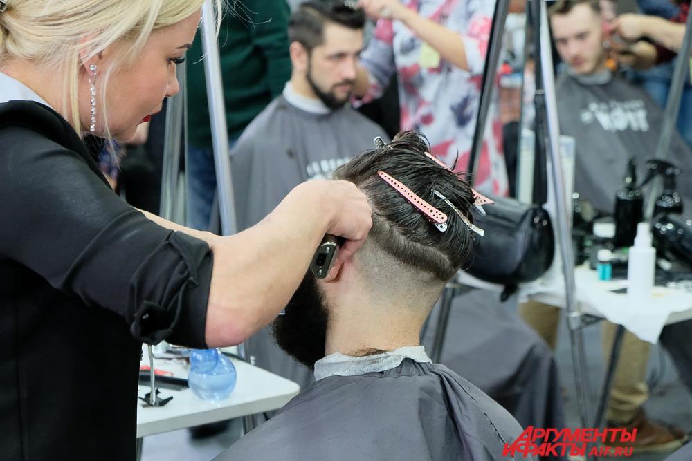 Конкурс парикмахеров в Перми 2017