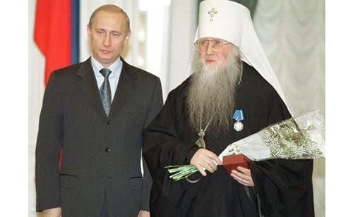 Орден Почета вручен управляющему Рязанской епархией митрополиту Симону (Сергею Новикову).