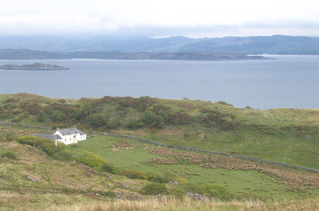 Дом Оруэлла на острове Джура.