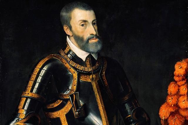 Император Священной Римской империи Карл V.