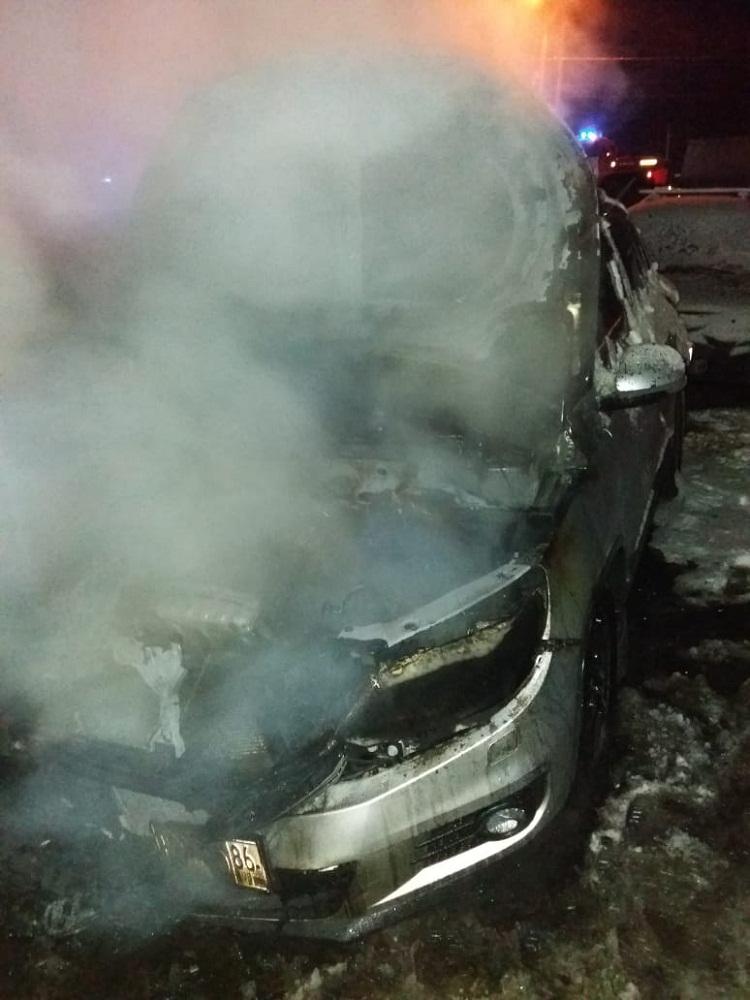 Автомобили сильно повреждены