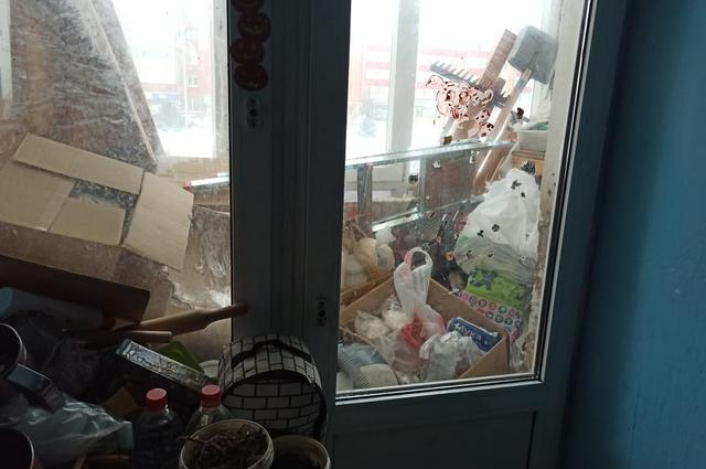 Хлам в квартире создает угрозу пожара