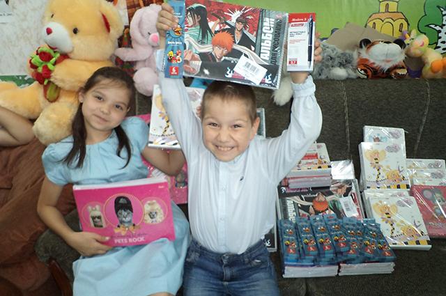 К 1 сентября Русская Берёза помогает собираться в школу детям со всех регионов РФ