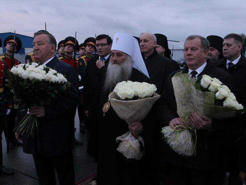 Прибытие Патриарха Кирилла в Барнаул