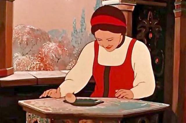 Скриншот рисунка из сказки
