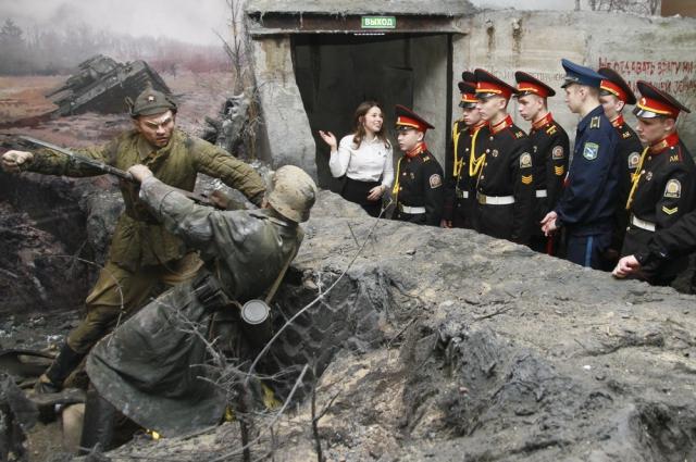 """панорама """"Битва за Москву"""""""