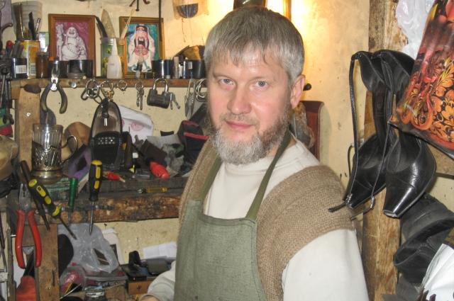 Сергей Павлов на рабочем месте
