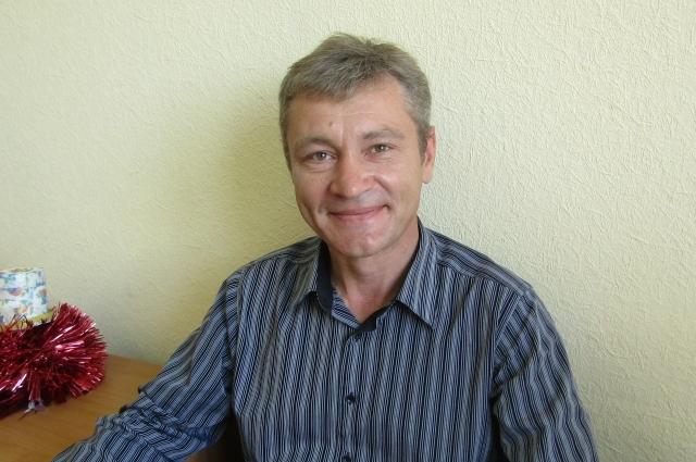 Начальник службы механизации Вадим Абросимов.