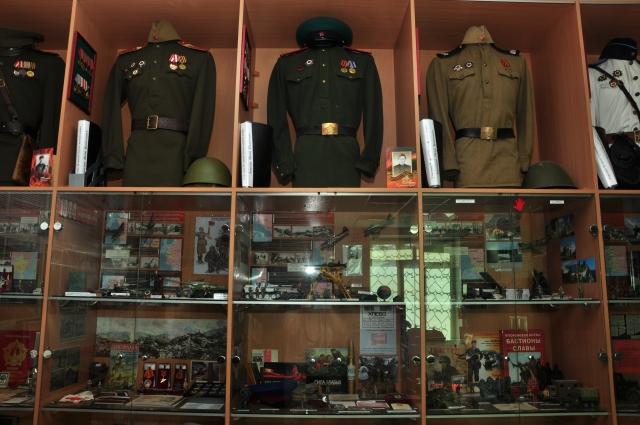 Посетители экспозиции смогут увидеть обмундирование военных.