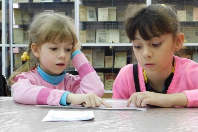 В залах библиотеки можно почитать и детские книжки.