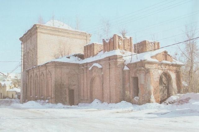 Здание церкви в 2008 г.
