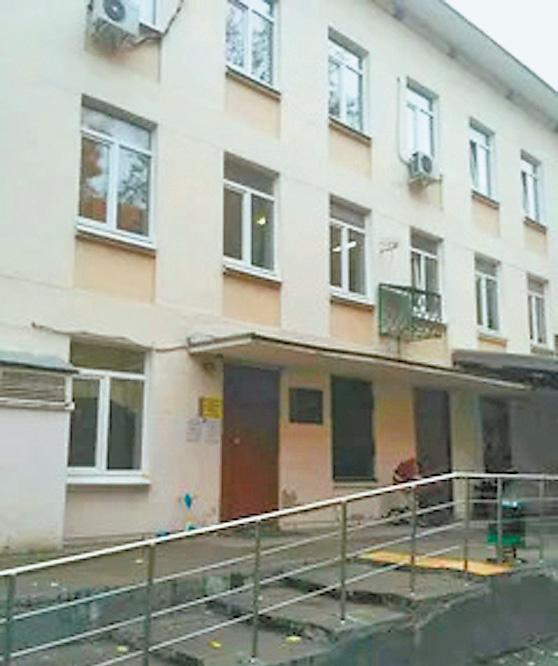 Фасад поликлиники будет обновлён.