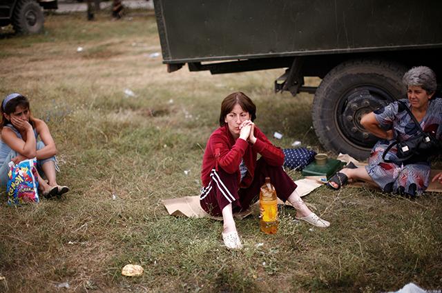 Чудо, что в разбомблённом Цхинвале остались живые люди