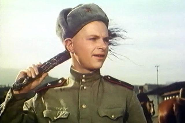 Кадр из фильма Солдат Иван Бровкин, 1955 год