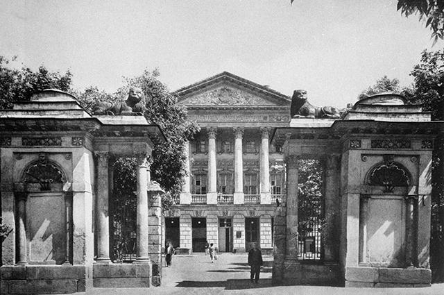 Дом Баташовых на Яузе. 1984 год.