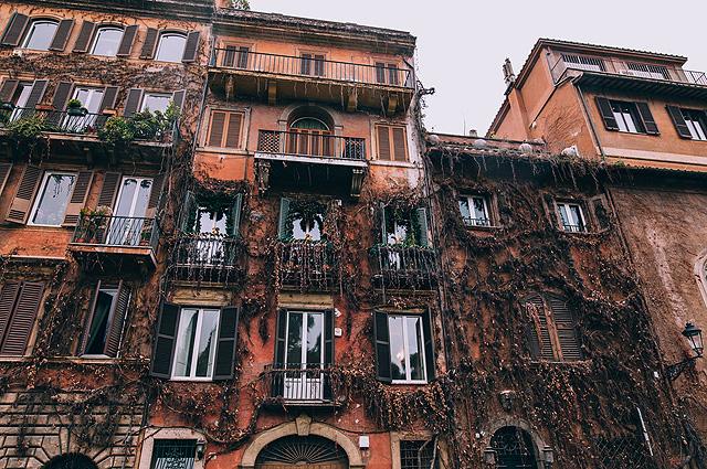 Дом в Риме