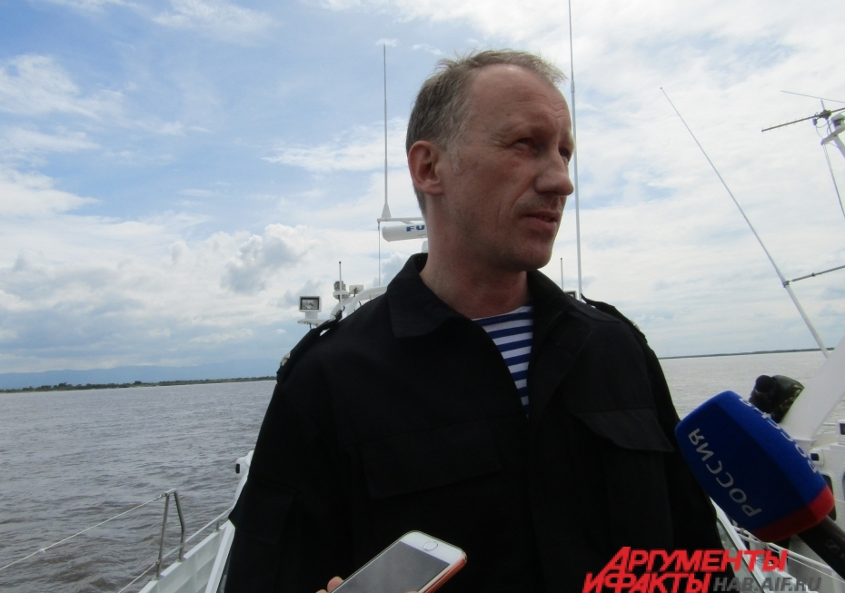Игорь Пронников - начальник речного отдела Хабаровской таможни.
