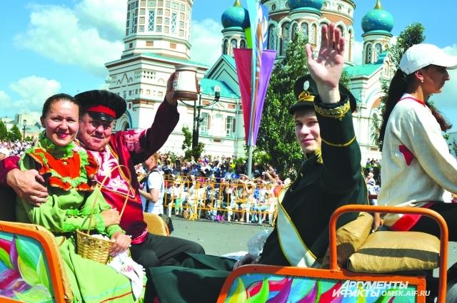 Празднование 300-летнего юбилея Омска стало стимулом для добрых дел.