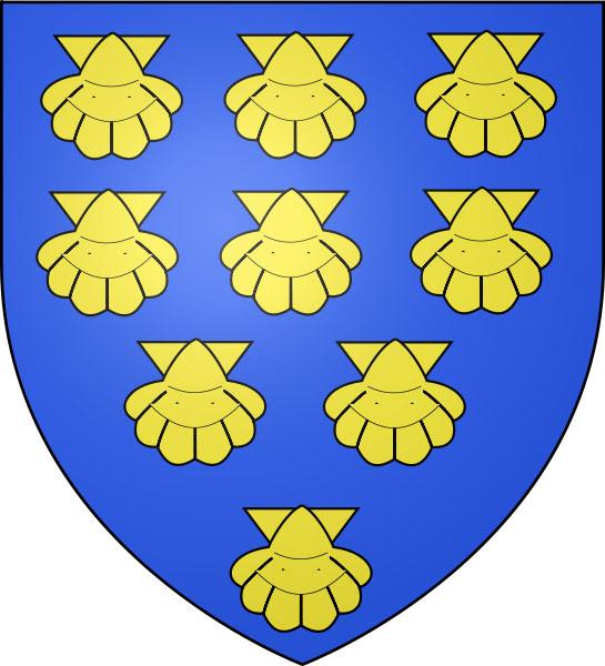 Герб семьи де Кубертен