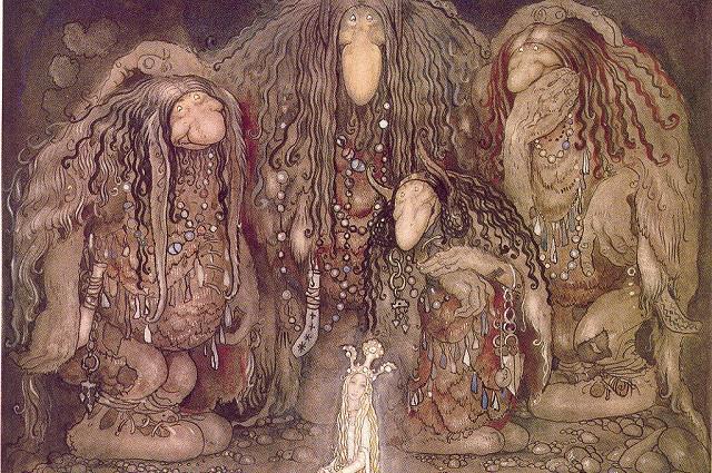 Так выглядят скандинавские родственники славянского Морозко.