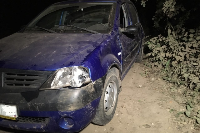 Водитель иномарки погиб на месте ДТП.