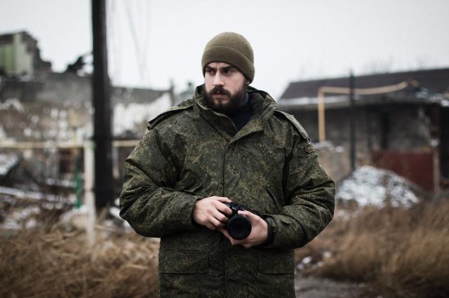 Длительное время Вадим Канделинский работал военкором на Донбассе.