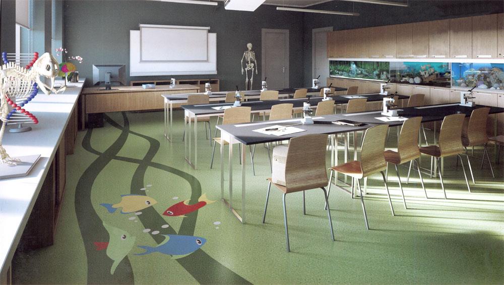 Жигулина роща, кабинет биологии