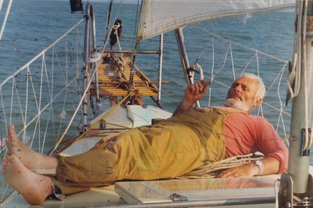 За месяц моряк обошел в одиночестве по периметру все Азовское море.