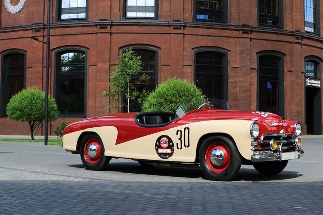 «Победа-спорт», 1956. Это единственная реплика спортивного автомобиля М-20 с кузовом спайдер заводской гоночной команды «Торпедо-ГАЗ».