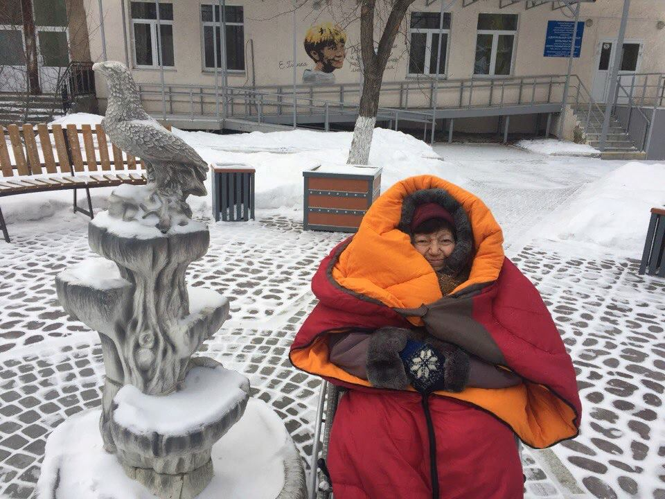 Волонтер Светлана Краева