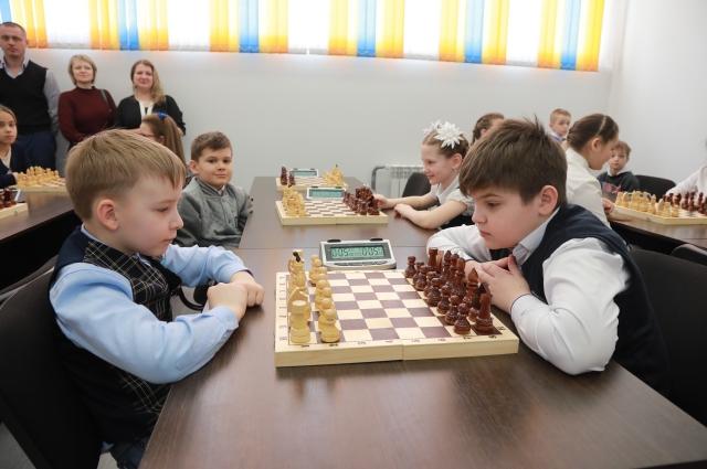Юные шахматисты тоже будут заниматься в новом центре.