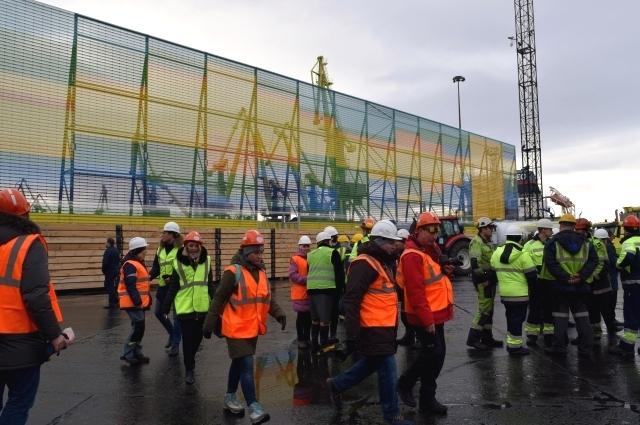 Сложно было работать, когда с одной стороны строительный проект, а с другой - 16,5 млн тонн груза, который необходимо перегрузить.