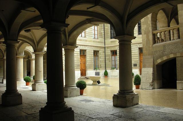 Отель-дэ-Вилль в Женеве.