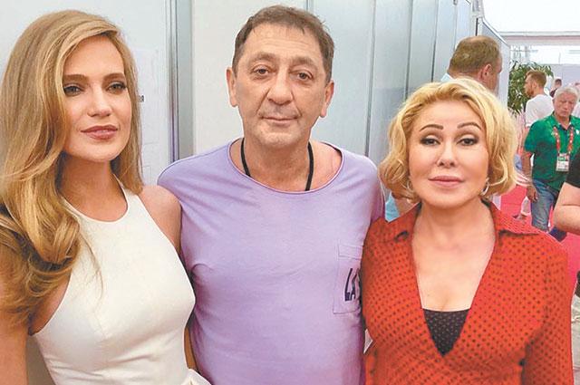 С Натальей Ионовой (Глюкозой) иГригорием Лепсом, 26 июля 2018 г.