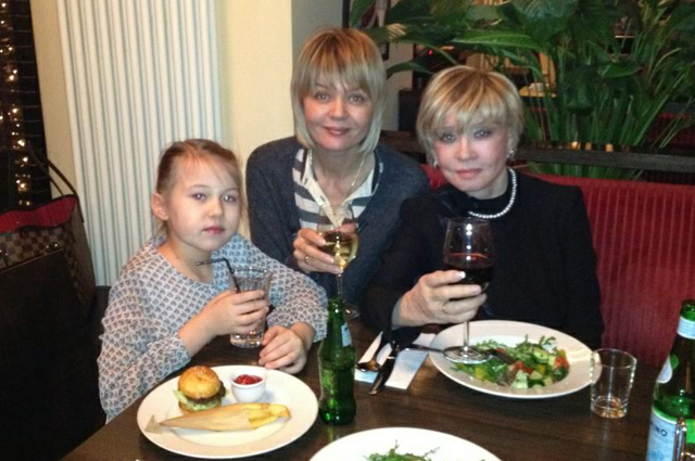 Юлия Меньшова и Вера Алентова