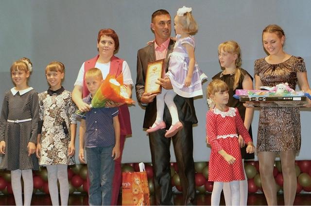 Жители региона регулярно становятся победителями конкурса «Семья года».