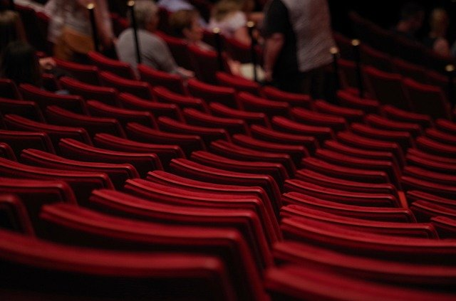 сцена, театр, зал