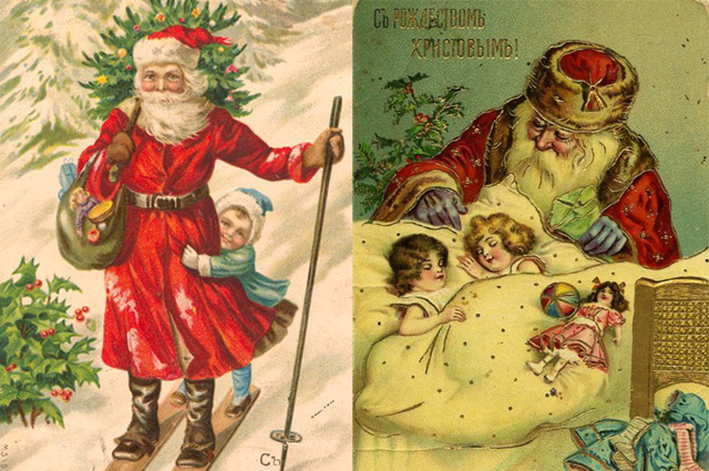 Новый образ Деда Мороза всем пришелся по душе.