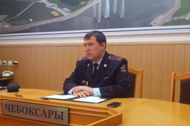 руководитель экспертно-криминалистического центра МВД Чувашии Александр Сергеев