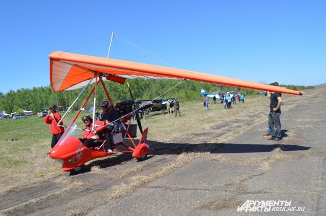 Слет любителей экстрима и сверхлегкой авиации по счету уже 16-й.