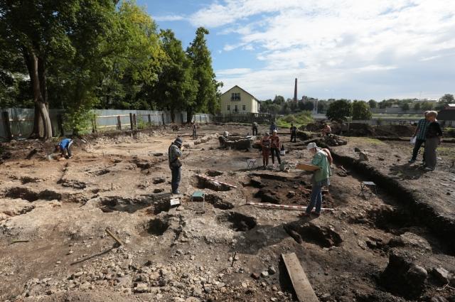 Климентовский раскоп.