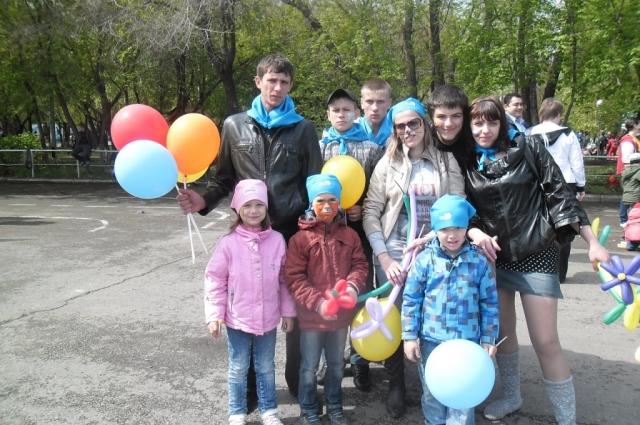 Еще в раннем детстве Наталья решила, что у неё будет много детей, и все они будут друзьями.