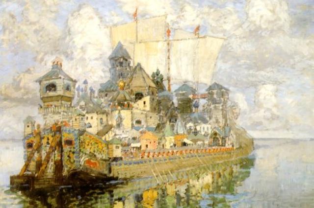 Легенды об утонувшей городе есть почти в каждом регионе, самая знаменитая - о невидимом граде Китеже.